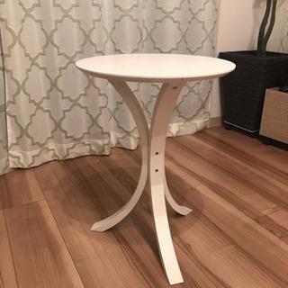 サイドテーブル 花台 丸形