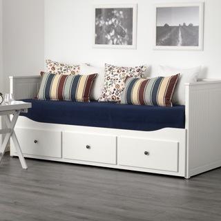 IKEA HEMNES デイベッドフレーム(引き出し×3)ホワイト