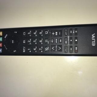 リモコン ELPA(東芝テレビ用)RC-401TO