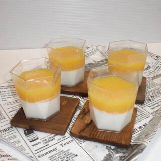 蒸し暑いこの時期にピッタリのゼリーやムースを作ってみませんか♪