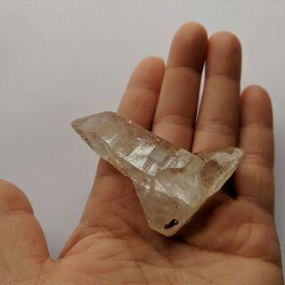【天然石】ヒマラヤ水晶 ゴールデンヒーラー ポイント