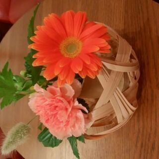 初めての竹細工体験