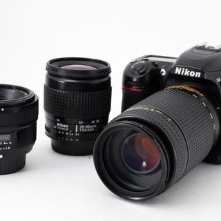 Nikon D7500 単焦点&標準&望遠トリプルレンズセット★...