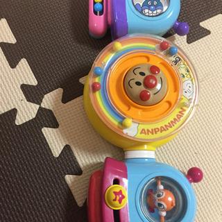 アンパンマン ベビーカー チャイルドシート ハンドルおもちゃ