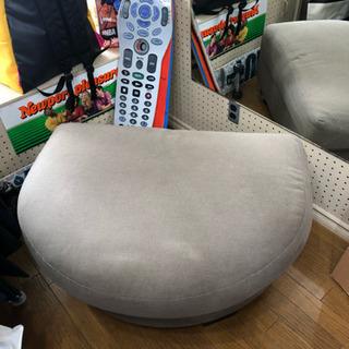 本日引き取りの場合無料。IKEA購入 半円形ソファ(オットマン)