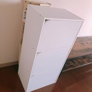 3段 カラーボックス