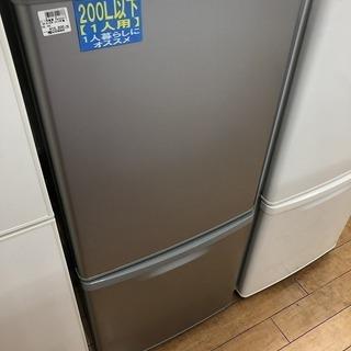 安心6ヶ月保証!パナソニックの2ドア冷蔵庫
