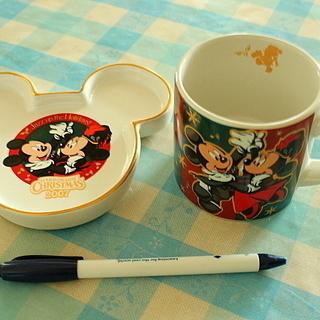東京ディズニーランドのカップ&ソーサ―