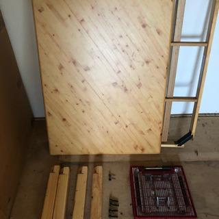 木目調コタツテーブル