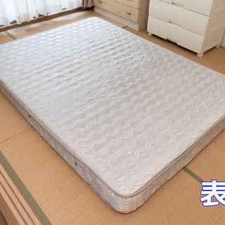 ベッドマットレス ダブル ★当方へ引取り限定 ★1000円差し上げます。