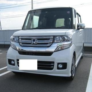 H28 N-BOXカスタムG・Lパッケージ 車検R3年1月 プッ...