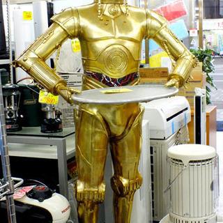 スターウォーズ C-3PO 特大ディスプレイ 等身大フィギュア 札...