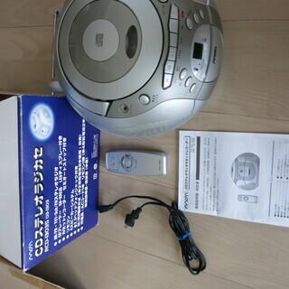 CDカセラジオ