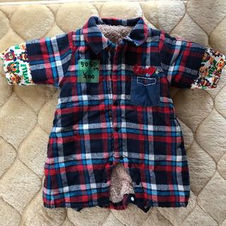【美品】赤ちゃんの冬服50〜60