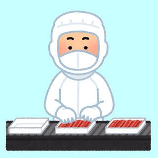 食品工場での軽作業(厚焼き玉子製造)