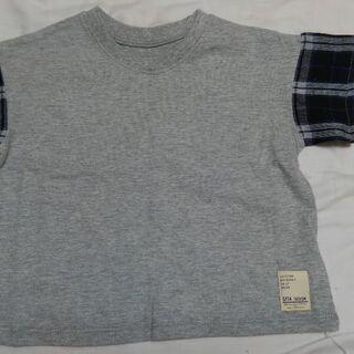 【新品未使用】タグ付き Tシャツ サイズ100 男女