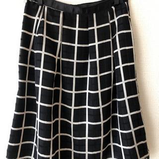 黒 スカート 春夏用 サイズM