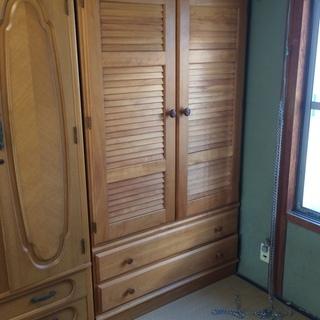洋タンス 104㎝×58㎝×180㎝ 島口家具製作所 比較的美品