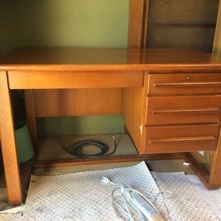 木製学習机 120㎝×70㎝×高さ73㎝