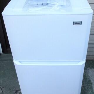 ☆ハイアール Haier JR-N106K 106L 2ドア冷凍冷...