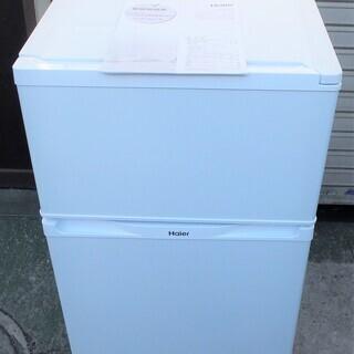 ☆ハイアール Haier JR-N91K 91L 2ドア冷凍冷蔵庫...
