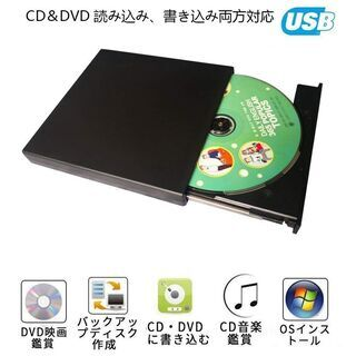 外付け DVD ドライブ