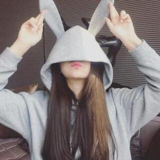 【可愛い】うさ耳パーカー うさみみ ウサミミ オルチャン 韓国
