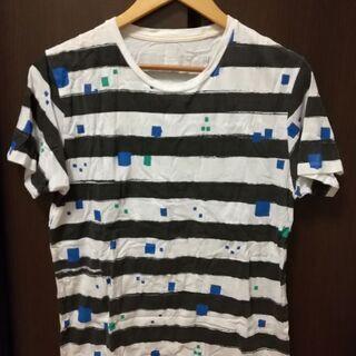 【グラニフ】ボーダーTシャツ