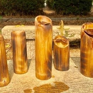 竹製酒器各種