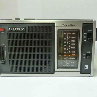 ●レトロ・整備済み・動作品・SONY FM/SW/MWトランジス...