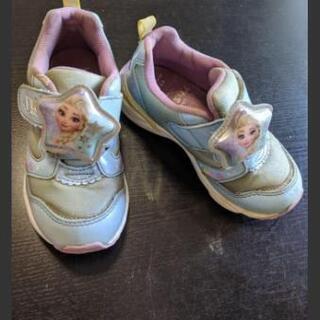 【終了】アナと雪の子供 子供の靴 17センチ