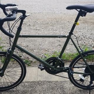 【宮城県】ミニベロ ロードバイク 一日だけ使用のほぼ新品【仙台市...