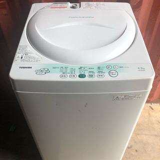 取引中 TOSHIBA 洗濯機 2011年製 4.2kg AW-5...