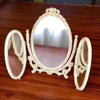 アンティーク 三面鏡
