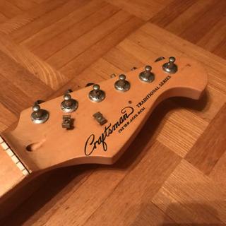 ギター クラフトマン 青 エレキ エレキギター 紺っぽい青
