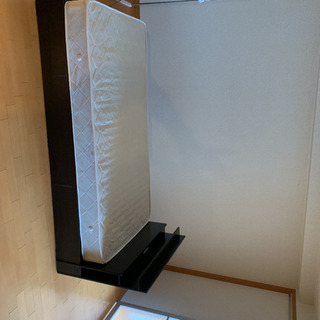 極美品 シングルベッド フレーム マットレス セット