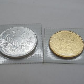 天皇陛下御在位60年記念金貨/銀貨セットブリスターパック