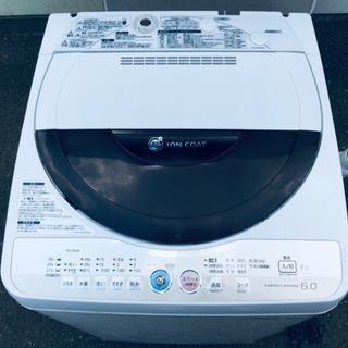 440番 SHARP✨全自動電気洗機😘ES-GE60K‼️