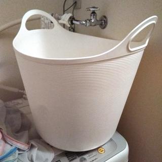 ◎無料◎【交渉中】洗濯カゴ 風呂桶 ラバーカップ  キッチンラック...