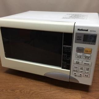 ナショナル 電子レンジ NE-TZ15A オーブンレンジ