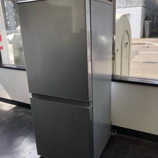 AQUA 2018年製 2ドア冷蔵庫 AQR-13G