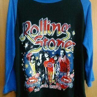 The Rolling Stones ヴィンテージ ラグランTシ...
