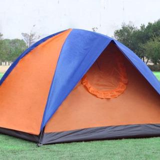 [HONGJING] 3人/4人用テント アウトドア/キャンプ