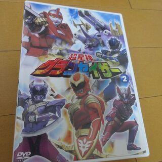 DVD 超星神 グランセイザー Vol.2 (瀬川亮 清水あすか...