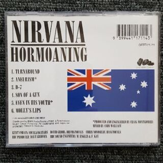 【中古レア】HORMOANING / NIRVANA オーストラリア盤 - 本/CD/DVD