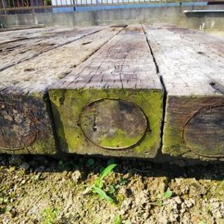 またまた値下げ❗️枕木 23本分3000×3000 コンクリート枕木