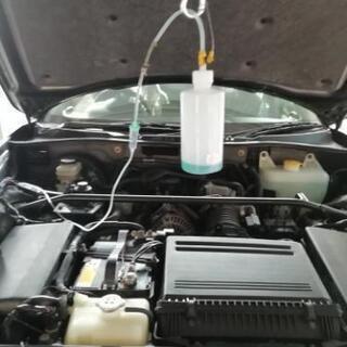 RECS エンジン内部洗浄