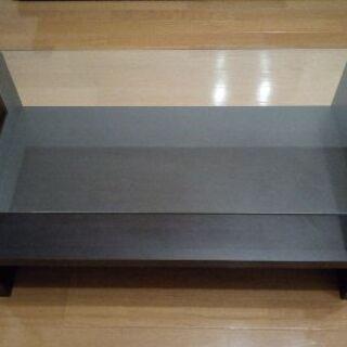 ガラスセンターテーブル 幅90cm×奥行き45cm×高さ41.5c...