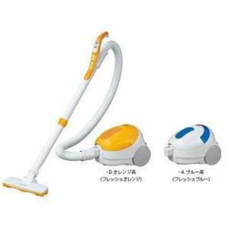 シャープ SHARP 掃除機 紙パック式 オレンジ系