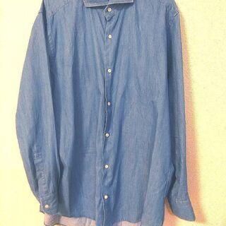 メンズシャツ 五大陸 LL 美品